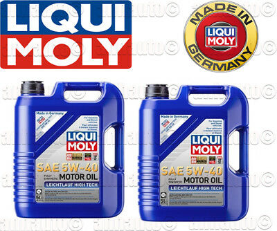 10-Liters  Liqui Moly Leichtlauf High Tech 5W-40 Synthetic  Engine Oil  2332