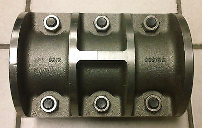 009108 Split Rigid 2-1/2 In Iron Coupling