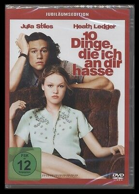 Dvd 10 Dinge Die Ich An Dir Hasse - Heath Ledger + Julia Stiles *** Neu ***