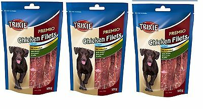 TRIXIE PREMIO Chicken Filets 3 x 100g Treats - Posted Today if Paid Before 1pm
