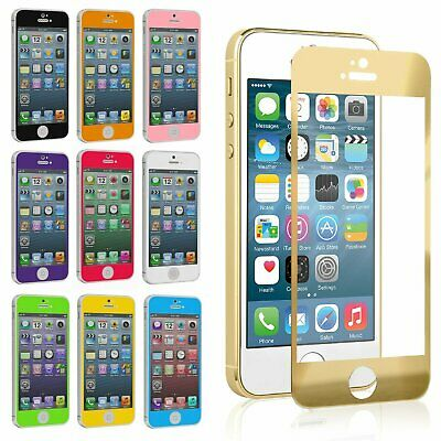 Premium Real Tempered Glass Film Screen Protector for Apple iPhone 5 5S 5C