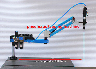 New Pneumatic Air Tapping Machine Vertical Type M3-M12 1000mm k