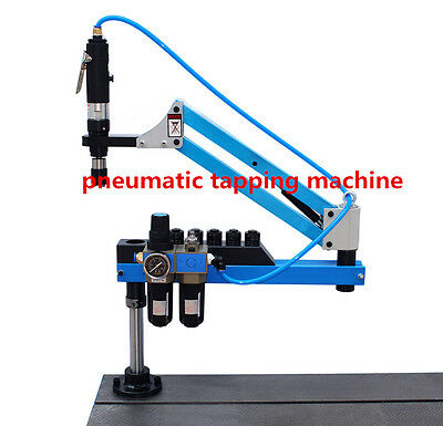 New Universal Flexible Arm Pneumatic Air Tapping Machine 360° Angle M3-M12 K