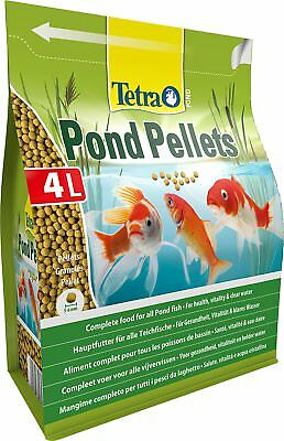 Tetra Pond Fish Pellet Med 4L / 1030g - Posted Today if Paid Before 1pm