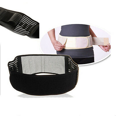 Tourmaline Self-Heating 20 Magnetic Therapy Lower Lumbar Medical Support Belt