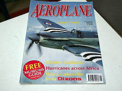 Aeroplane Monthly 1992 May - Fairey Firefly, Gloster Gladiator