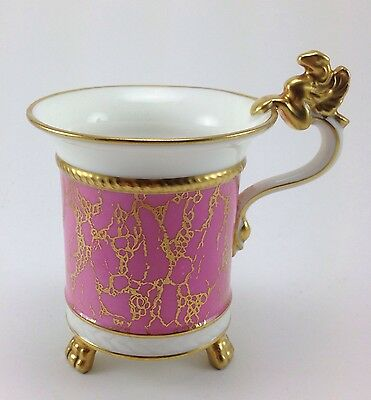 Unusual Vintage Hammersley & Co. Footed Cup Winged Griffin Handle 6256/5