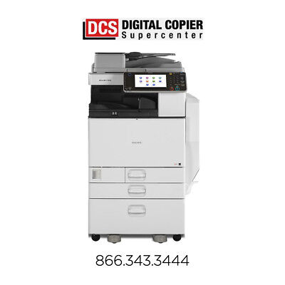 Ricoh Aficio MP C5502A Multifunction Color Copier Printer Scanner