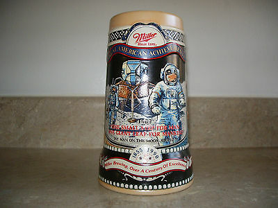 Miller High Life Celebrates Great American Achievements Beer Stein