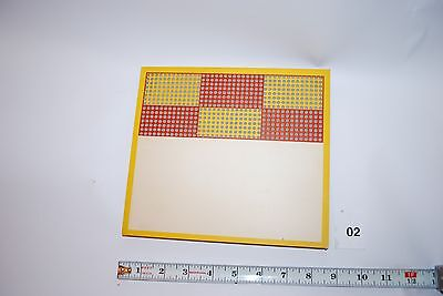 Vintage Punch Board  600 punches Plain Front Unpunched w/punch pin  #2