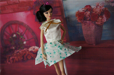 High quality Original wedding gown wears clothes Outfit Barbie Doll Party z60