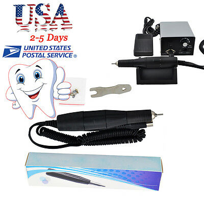 2-5d US 35K RPM Dental Jewelry Micromotor Polishing Micro Motor Handpiece 2.35mm