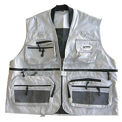 DCOutdoor® Fishing Vest / Hunting Vest - S M L XL 2XL 3XL