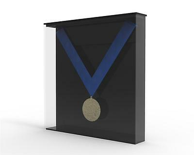 Medal Display Case, Wall Mounted, Acrylic Perspex - Medal, Medallion, Award