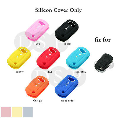 Silicone Cover fit for LAND ROVER LR3 Range Rover Sport Flip Remote Key Case Fob