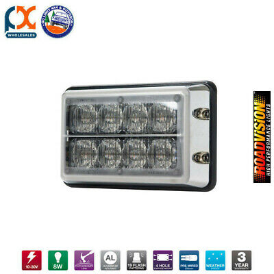 Le8Bb-C Led Strobe Light 11-30V Blu/blu