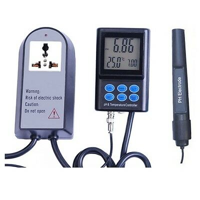 Medidor Controlador / Regulador digital de pH y Temperatura (pH-221)
