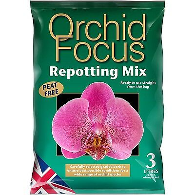 Sustrato para el cultivo de Orquídeas Growth Technology Orchid Focus Mix (3L)