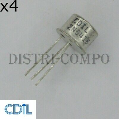2N5416 Transistor PNP TO-39 300V 1A CDIL RoHS (Lot de 4)