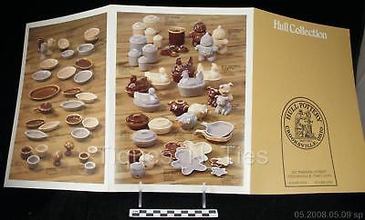 Vintage Hull Pottery Catalog Brochure Brown Drip Cookie Jar Corky Pig Bank (XX)
