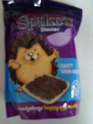 Spikes Dinner Semi Moist hedgehog food 550g - Posted Today if Paid Before 1pm