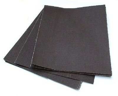 10 PACK - Emery Sanding Cloth Sheets - Fine / Medium / Coarse - 230MM X 280MM
