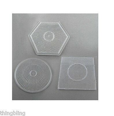 Fuse Bead Templates Boards Suitable for 5mm hama and perler beads - UK Seller