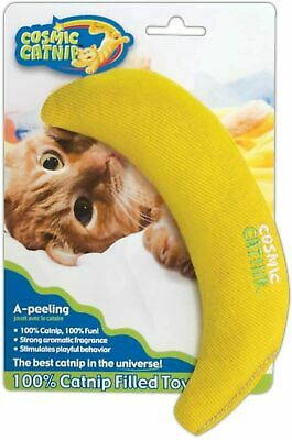 Cosmic Catnip Banana Simultaion toy cat kitten - Posted Today if Paid Before 1pm
