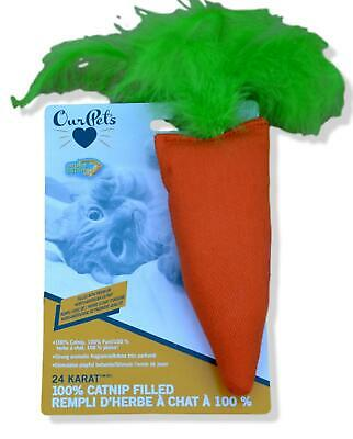 Cosmic Catnip Carrot Simultaion toy cat kitten Posted Today if Paid Before 1pm