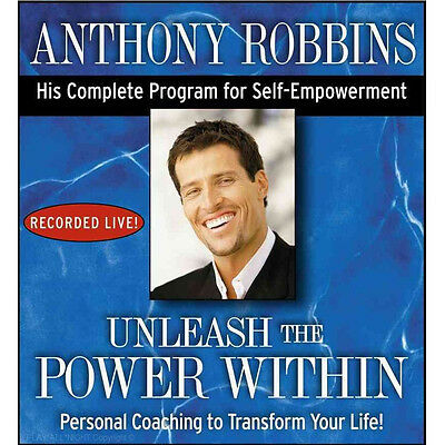 New UNLEASH THE POWER WITHIN Anthony Tony Robbins 6 CD Become All You Desire