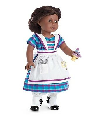 NIB American Girl Addy Limited Edition 2015 Dress & Sewing Set NEW!