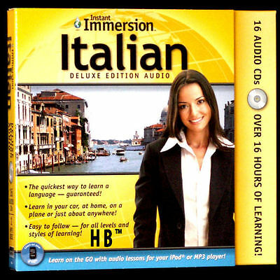 NEW Learn To Speak ITALIAN language Beginner Advanced + Course Transcripts 17 CD