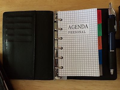 Personal Agenda Planner  Day Planner  Small Appointment Book
