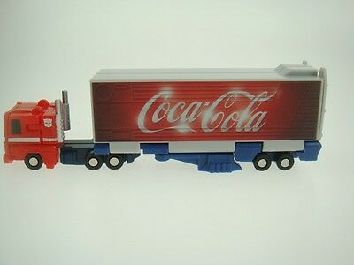 Transformers WST G1  Optimus Prime Cocacola Repainting