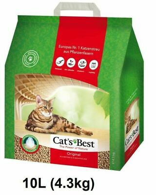 CatsBest Okoplus Clumping Cat Litter 10l - Posted Today if Paid Before 1pm