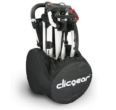 CLICGEAR TROLLEY WHEEL COVERS Fits models 1.0, 2.0, 3.0 and 3.5+