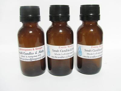 5 x 100ml Fragrance Oil For Candles, Melts, Soap Making, Bath Oils & Lotions.