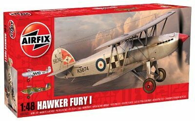 Airfix Model Kit A04103 Hawker Fury I Aircraft  1:48 Hornby Royal Air Force