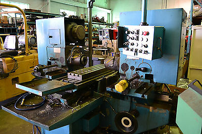 50 TAPER NICHOLS TWIN MILL 42 x 10 TABLE SCREW DRIVE  DUPLEX MILLING MACHINE