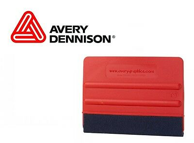 "4"" Avery Flex Felt Tip Squeegee Burnisher For Sign Vinyl Graphic Wrap Signage"