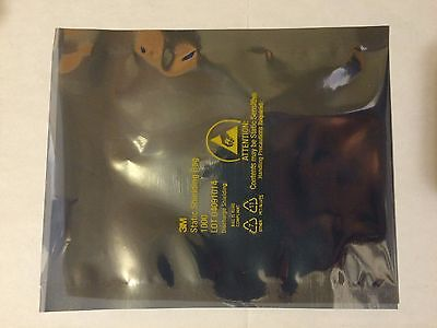 """4x6"""" Static Shielding Bags ESD Antistatic Open-Top - Metal In - NEW"""