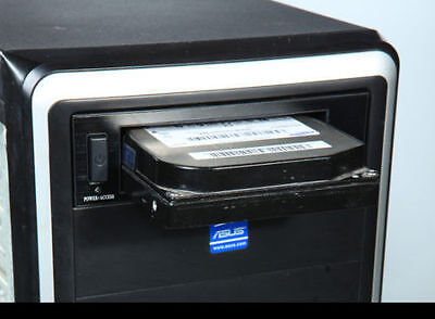 """Removable Rack Tray for Hard Disk SATA II/III 2.5"""" & 3.5"""" with off / on Button"""