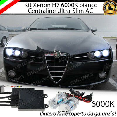 Kit Xenon Xeno H7 6000K 35W Ac Specifico Alfa Romeo 159 No Error Con  Garanzia