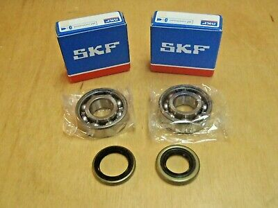 SKF crank crankshaft bearings seals for Husqvarna 362 365 371 372 372XP NEW