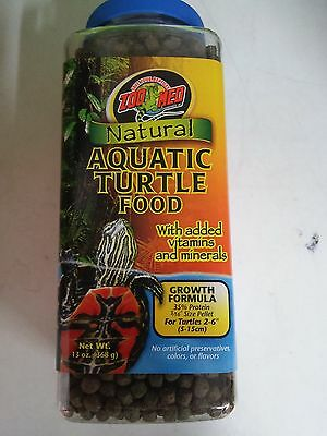 Zoo Med Natural Aquatic Turtle Food 369g - Posted Today if Paid Before 1pm