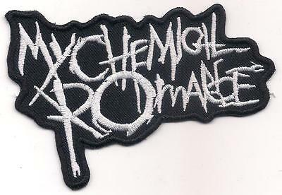 MY CHEMICAL ROMANCE (British alternative rock emo logo patch) 10 x 7 Cm