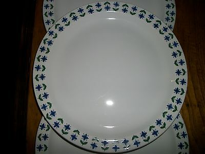 ROSELLE MIDWINTER STAFFORDSHIRE ENGLAND DINNER PLATES EXCELL! [3] AVAIL. 25%off