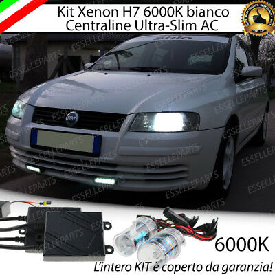 Kit Xenon Xeno H7 Ac 6000K 35W Specifico Fiat Stilo No Error Con  Garanzia