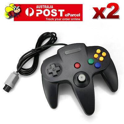 2X Classic Controller Games Gamepad Joystick For Nintendo 64 N64 System