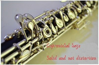 Silver Plated C Key Semiautomatic Oboe with 3rd Octave Key with E Key FREE SHIPG